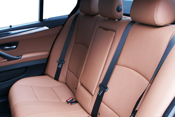 BMW 5 serie Alba eco-leather kaneelbruin