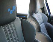 Renault Megane 4 Hatchback GT-Line eco-leather Zwart Borduring logo