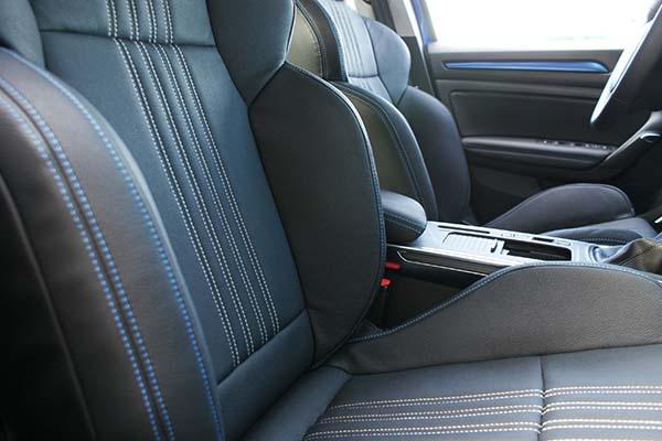 Renault Megane 4 Hatchback GT-Line eco-leather Zwart