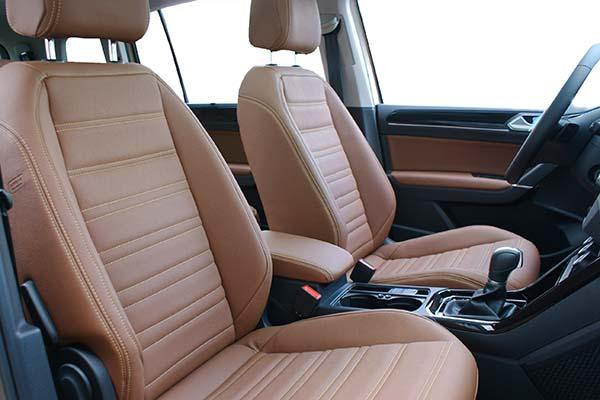 Volkswagen Touran Alba eco-leather Kaneelbruin