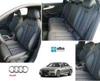 Alba Nieuws Audi A4 Lederen Interieur Diamond Stiksel