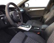Audi A4 Buffalino Leder Alcantara Zwart Stuurwiel
