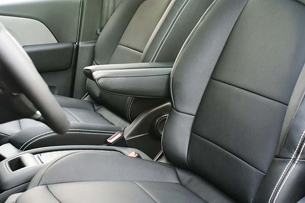 Citroen C4 Grand Picasso Alba eco-leather Zwart