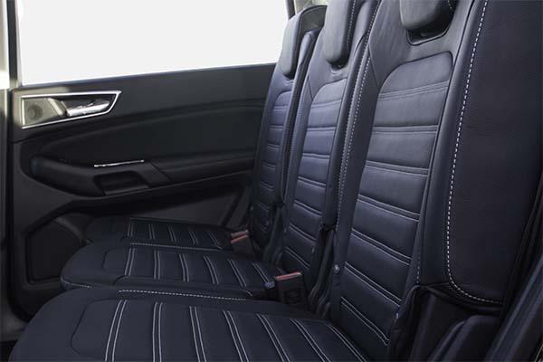 Ford Galaxy Buffalino Leder Zwart Voorstoelen