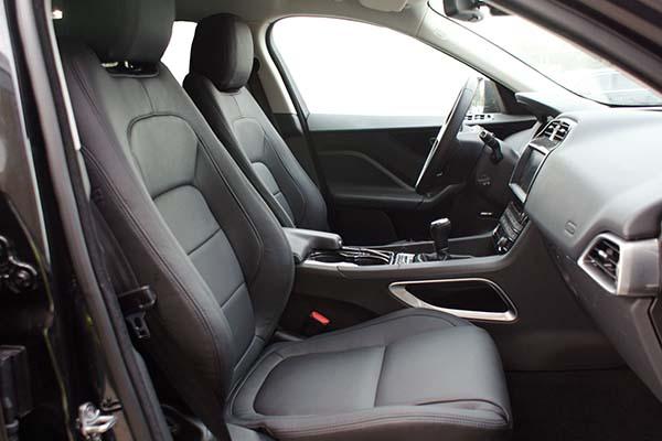 Jaguar F-Pace Buffalino Leder Zwart