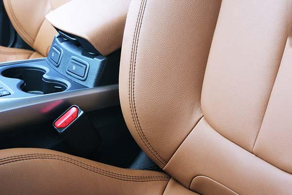 Renault Kadjar Buffalino Leder Truffelbruin Detail