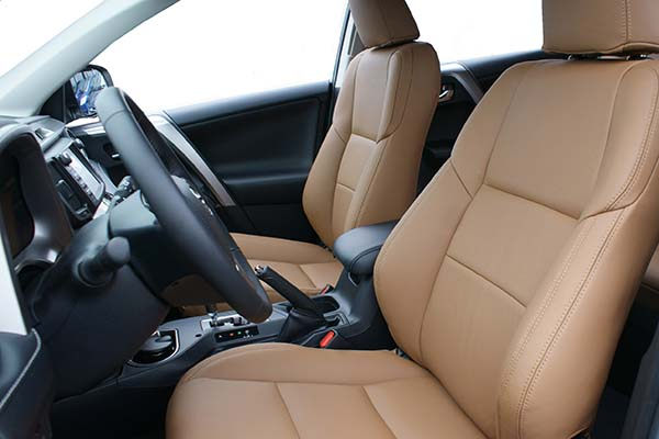 Toyota Rav 4 Buffalino Leder Amaretto Voorstoelen