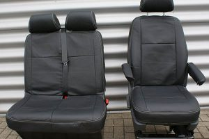 Volkswagen Transporter protective vehicle seat cover Alba Automotive 05