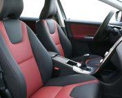 Volvo XC60 Buffalino Leder Zwart Bordeaux Voorstoelen
